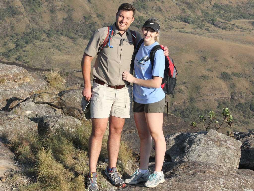 Trekking in Ecuador couple | Romantic getaway in Ecuador