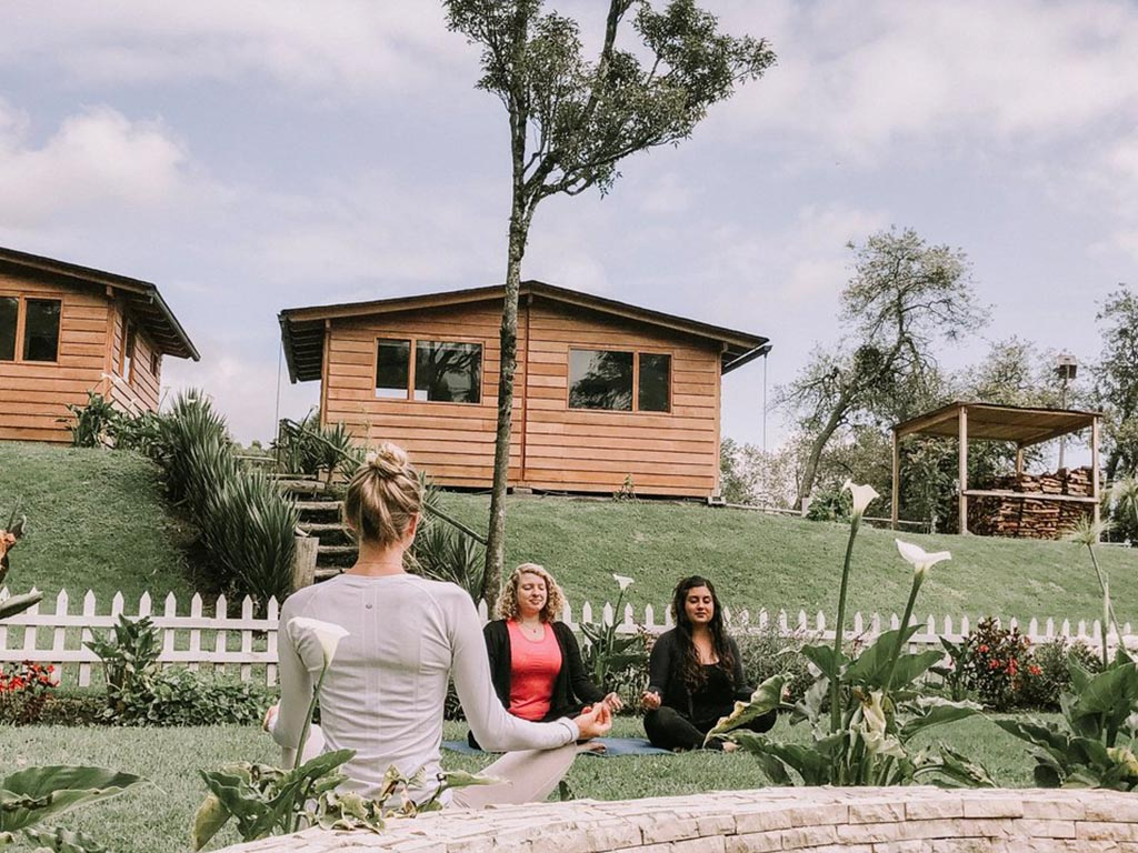 Yoga retreats in Ecuador