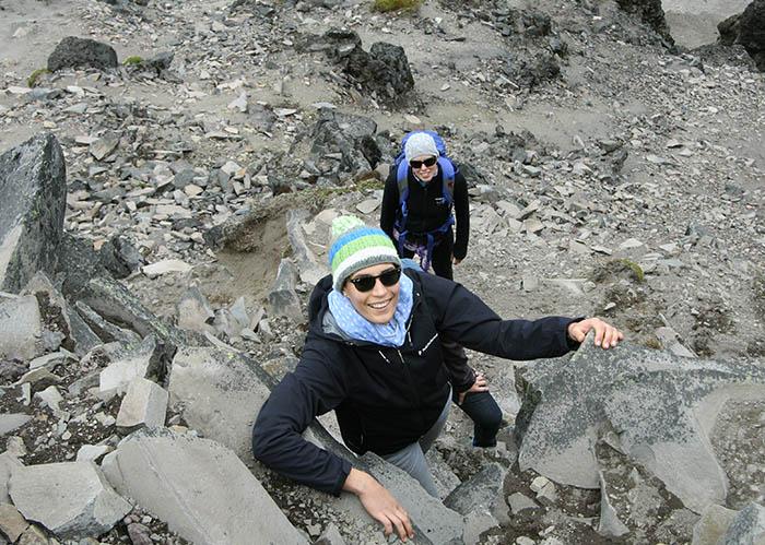 Climbing Corazon Volcano1